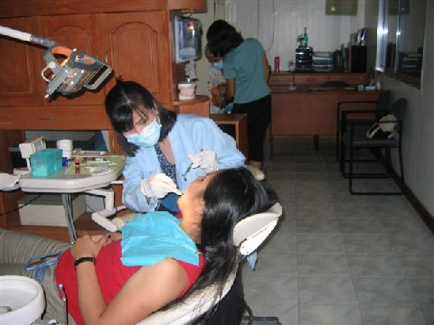 Dra Yap working on Lorena